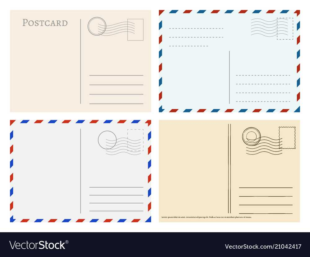 Travel Postcard Templates Greetings Post Cards Within Post Cards Template