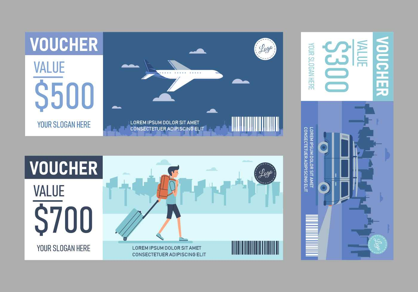 Travel Voucher Free Vector Art - (33 Free Downloads) Pertaining To Free Travel Gift Certificate Template