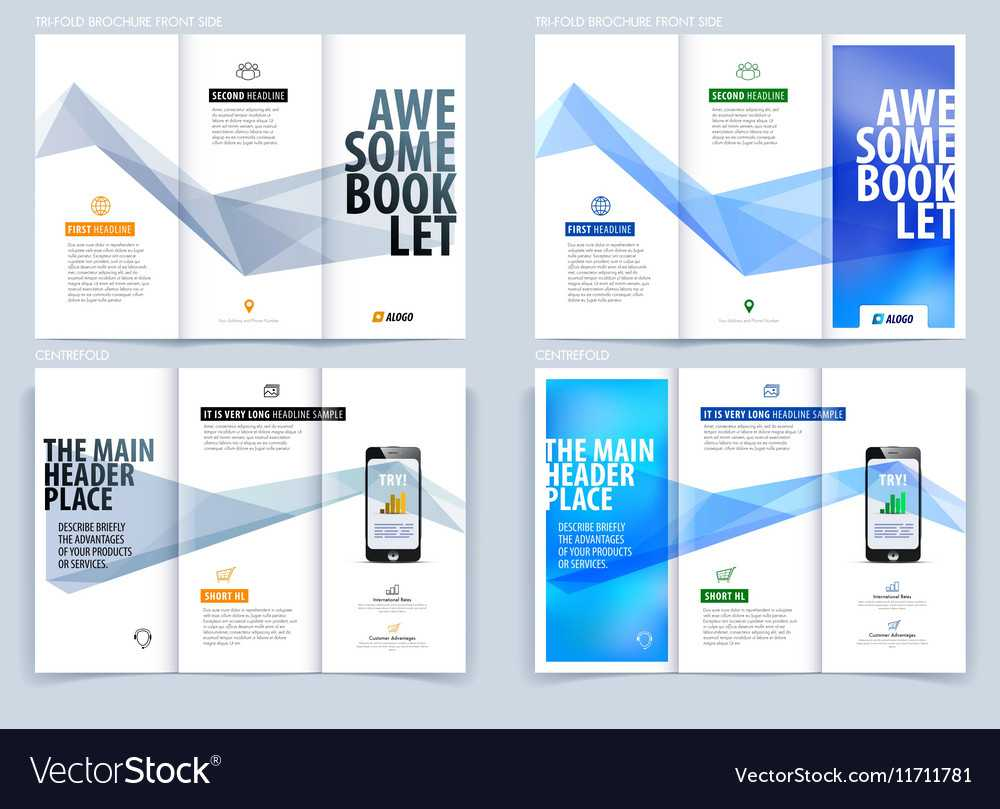 Tri Fold Brochure Template Layout Cover Design Intended For Engineering Brochure Templates