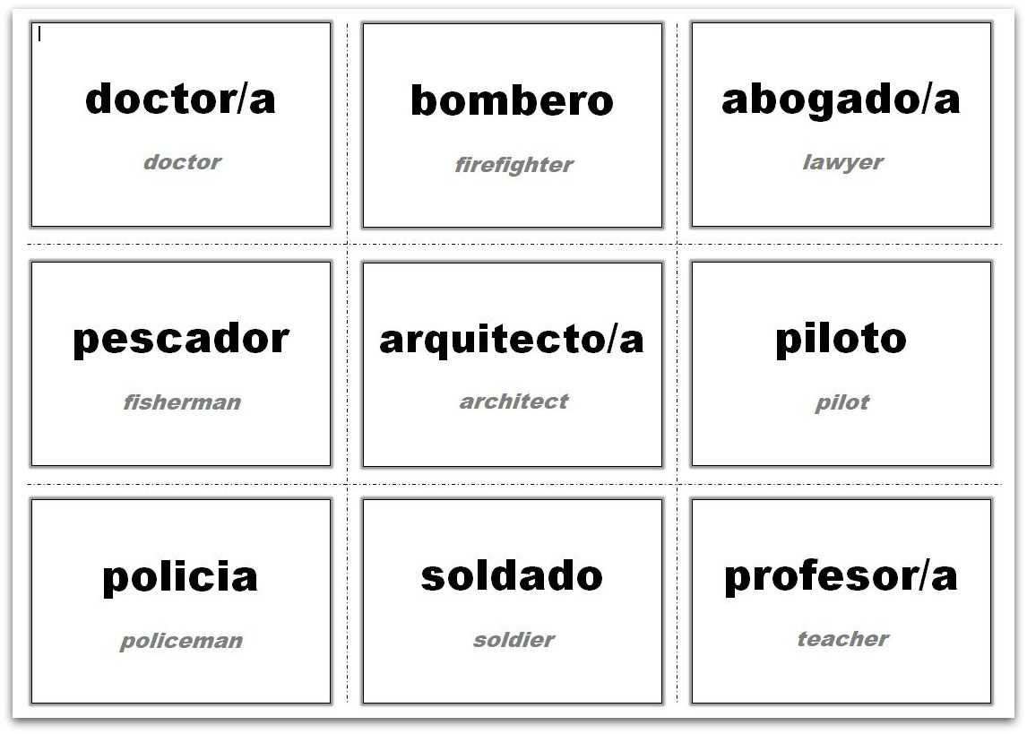 Vocabulary Flash Cards Using Ms Word within Index Card ...