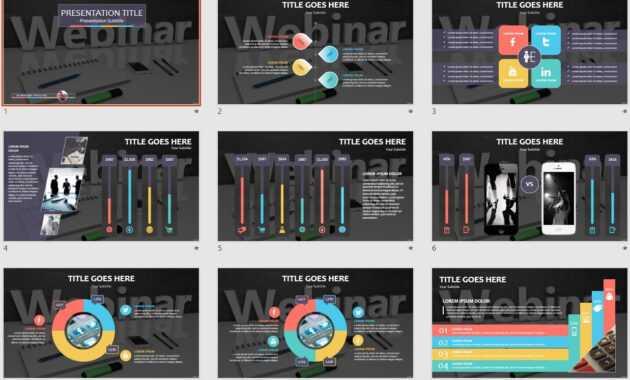 Webinar Powerpoint Template #109705 regarding Webinar Powerpoint Templates