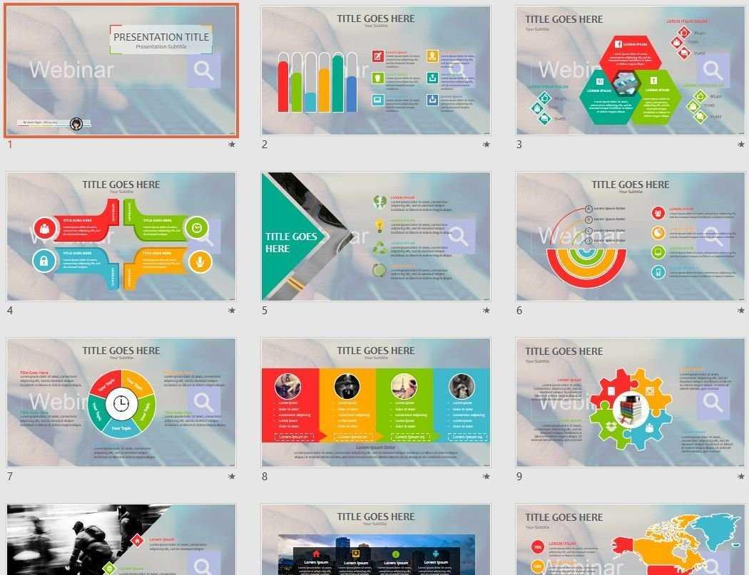 Webinar Powerpoint Template #73793 Throughout Webinar Powerpoint Templates
