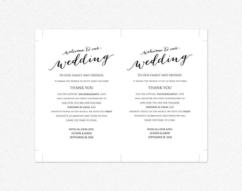 Wedding Information Cards Template – Colona.rsd7 Inside Wedding Hotel Information Card Template