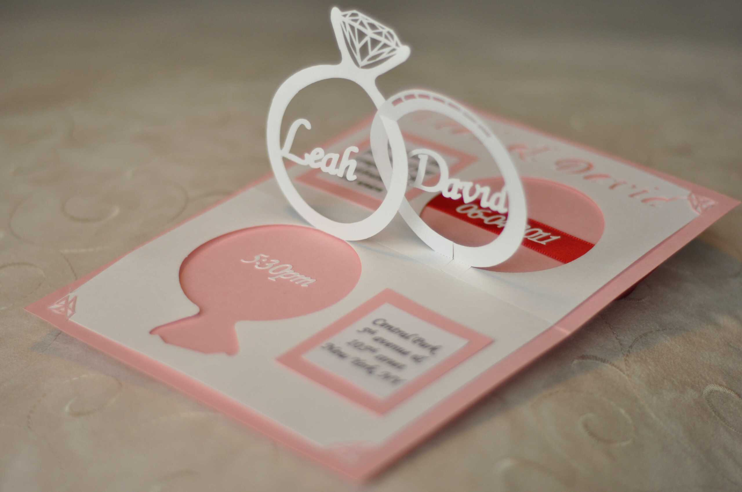 Wedding Invitation Pop Up Template | Sample Best Resume Inside Pop Up Wedding Card Template Free