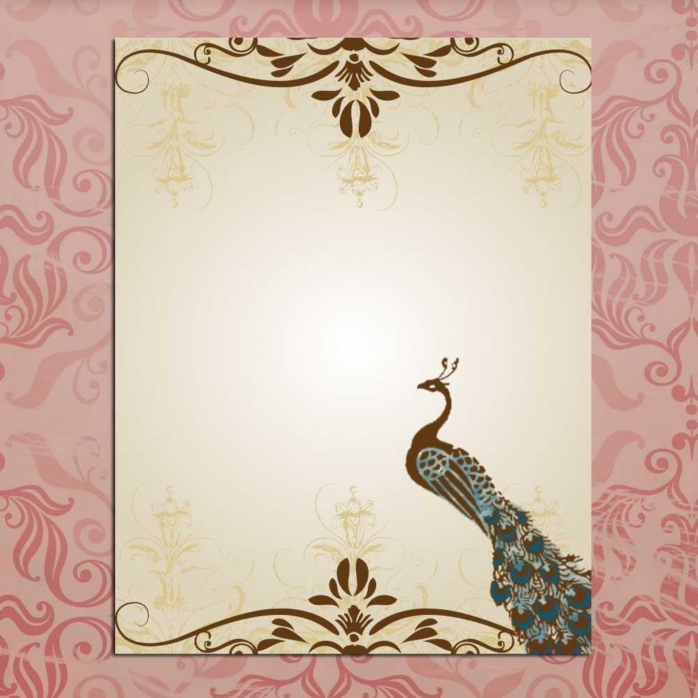 Wedding Invitations Designs Templates Free - Wedding For Indian Wedding Cards Design Templates