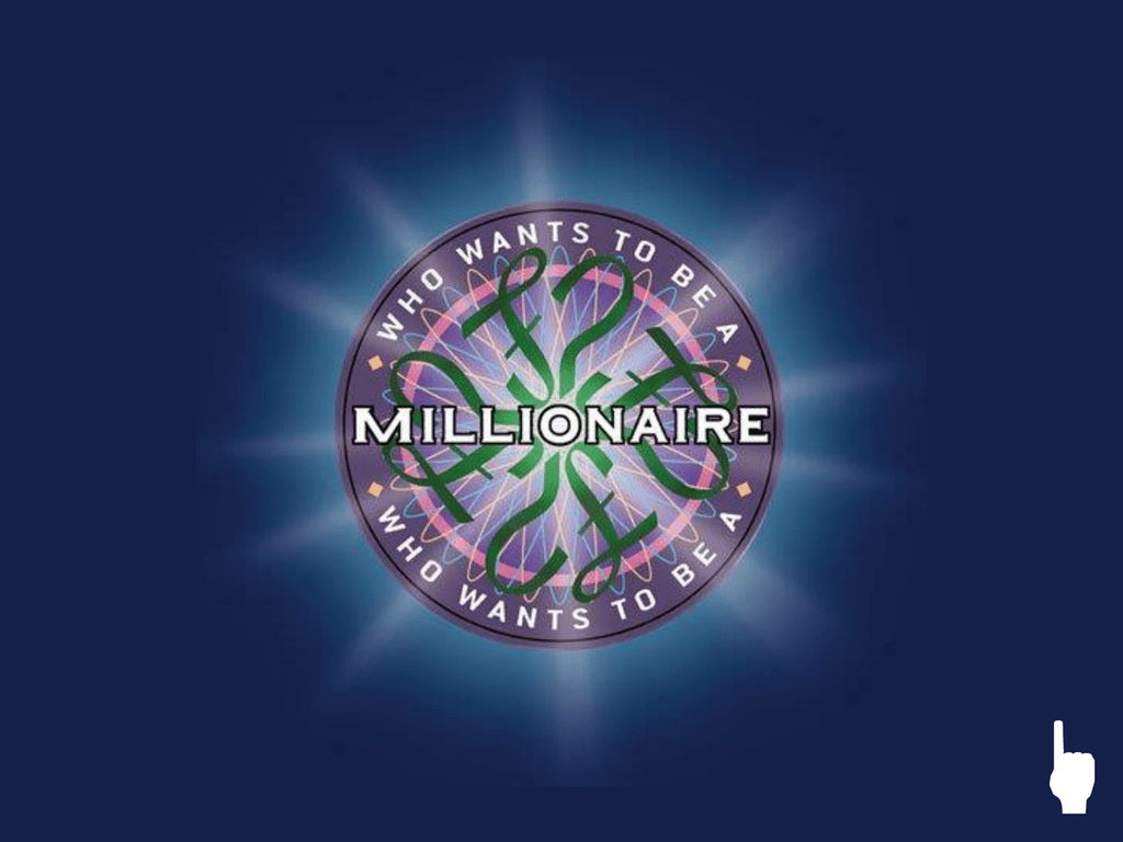 Who Wants To Be A Millionaire? Powerpoint Template In Who Wants To Be A Millionaire Powerpoint Template