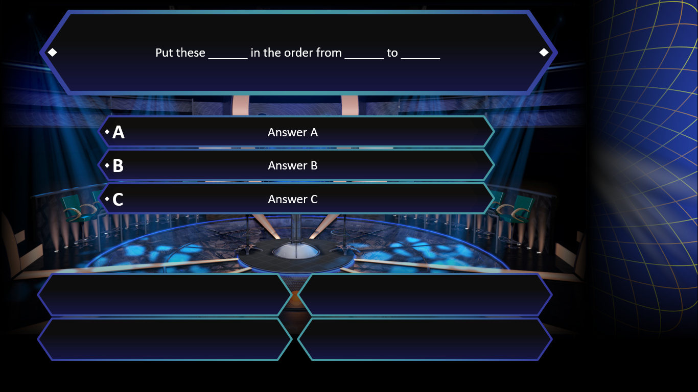 Who Wants To Be A Millionaire? | Rusnak Creative Free Intended For Who Wants To Be A Millionaire Powerpoint Template