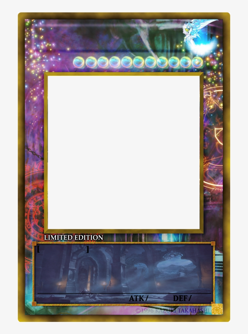 Yugioh Card Png - Yu Gi Oh Card Base - Free Transparent Png Within Yugioh Card Template